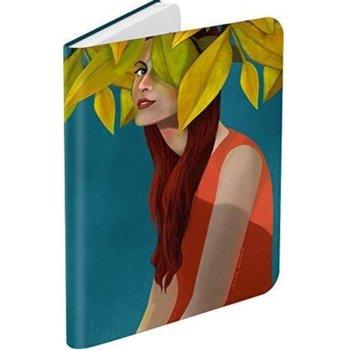 """Калъф за електронна книга BOOKEEN Classic - Lily Shygirl, за PocketBook Diva/Diva HD, 6"""" (15.24 cm), еко кожа, син image"""
