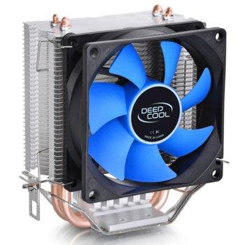 Охлаждане за процесор DeepCool Ice Edge Mini FS V2.0, LGA1156/1155/1151/1150/775 & AMD FM2/FM1/AM3(+)/AM2(+)/940/939/754 image