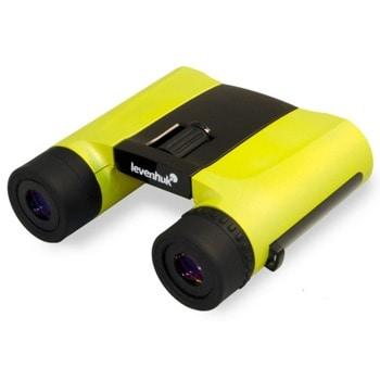 Бинокъл Levenhuk Rainbow 8x25 Lemon, 8x оптично увеличение, 25mm апертура, жълт, BaK-4 стъкло image