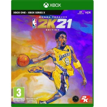 NBA 2K21 Mamba Forever Edition Xbox One product