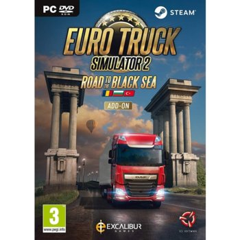 Допълнение към игра Euro Truck Simulator 2 - Road to the Black Sea - Add on, за PC image