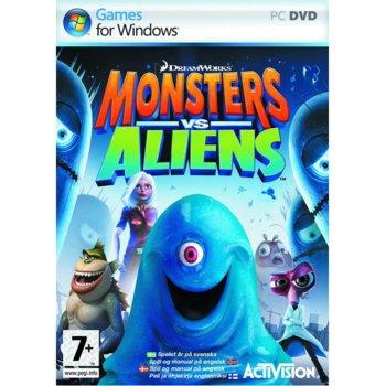 Monsters vs. Aliens product