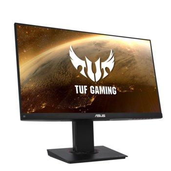 """Монитор Asus TUF VG249Q, 23.8"""" (60.45 cm) IPS панел, 144Hz, Full HD, 1ms, 250cd/m2, DisplayPort, HDMI, VGA image"""