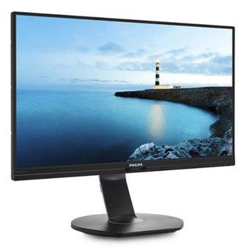 """Монитор Philips 272B7QPJEB, 27""""(68.58 cm) Wide Quad HD IPS W-LED, 5 ms, 20000000:1, 350 cd/m2, DP, HDMI image"""