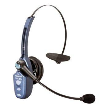 Слушалки BlueParrott B250-XTS 203890, Bluetooth 2.1, микрофон, моно слушалка с един говорител, 32 Ohm, сини image