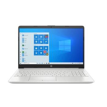 "Лаптоп HP 15-dw3004nu (2M6D0EA), двуядрен Tiger Lake Intel Core i3-1115G4 4.1 GHz, 15.6"" (39.62 cm) Full HD Anti-Glare Display, (HDMI), 8GB DDR4, 512GB SSD, 1x USB 3.1 Type-C, No OS  image"