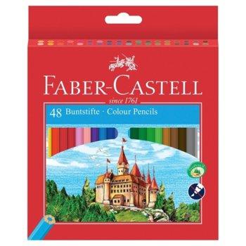 Faber-Castell Цветни моливи Замък 48 цвята product