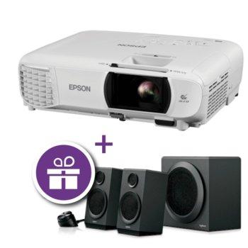 Epson EH-TW650 + Logitech Z333 product