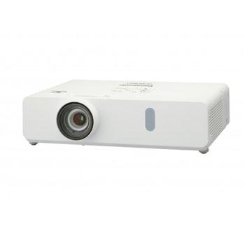 Проектор Panasonic PT-VX430EJ, 3LCD, XGA (1024 x 768), 20,000:1, 4500 lm, HDMI, D-sub, RJ-45, USB image