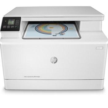 Мултифункционално лазерно устройство HP Color LaserJet Pro MFP M182n, цветен принтер/копир/скенер, 600 X 600, 16 стр/мин, LAN, USB, A4 image