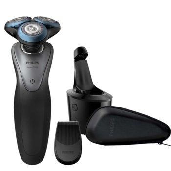 Самобръсначка Philips Series 7000 S7970/26, до 50 мин. работа, водоустойчива, GentlePrecision ножчета, черна image