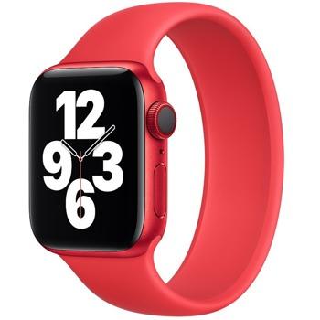 Каишка Sdesign Silicone SoloLoop Band (SDLOOP-RD-44), силиконова, за смарт часовник Apple Watch 42/44mm, червена image
