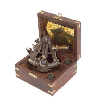 Секстант K&R Ventura в дървена подаръчна кутия, ръчна изработка image