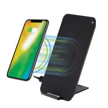 Безжично зарядно устройство 4smarts Inductive Fast Charger VoltBeam Evo, от USB C(ж) към безжично зареждане, 5V/2A, черен image