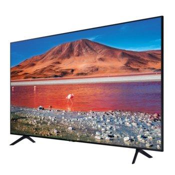 "Телевизор Samsung UE43TU7072UXXH, 43"" (109.22 cm) LED Smart TV, UHD/4K, DVB-T2CS2, LAN, Bluetooth 4.2, Wi-Fi, 2x HDMI, 1x USB image"