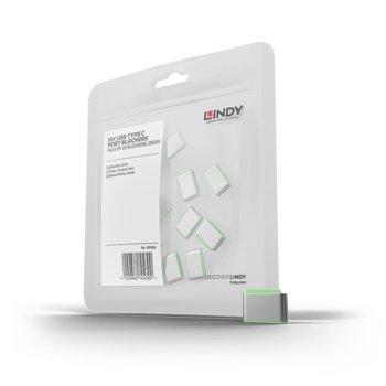 Блокери Lindy 40438, за заключваща система USB Port, 10 бр. (без ключ) image