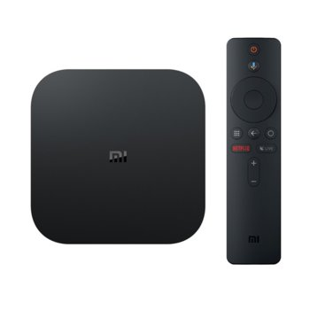 Медиа плейър Xiaomi Mi Box S, Cortex-A53, 2GB DDR3, 8GB eMMC, Wi-Fi, Bluetooth, HDMI, Android, дистанционно управление image