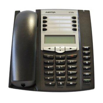 Стационарен телефон Aastra 6730a, 1 линия, черен image