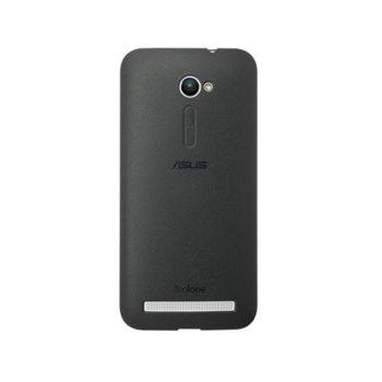 Калъф за Asus ZenFone 2, страничен протектор с гръб, поликарбонатов, Asus Bumper ZE500CL, черен image