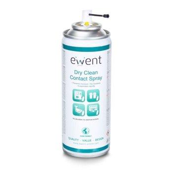 Почистващ контактен спрей Ewent EW5614, за ел.контакти, 200мл image