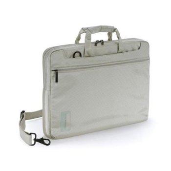 """Чанта за MacBook Pro TUCANO WO-MB154-I Workout, 15.4""""(39.12cm), бяла image"""