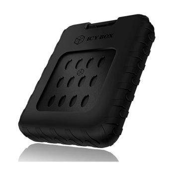 """Кутия 2.5"""" (6.35 cm) Raidsonic IB-279U3 за HDD/SSD, USB 3.0, водоустойчива, черна image"""