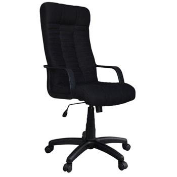 Директорски стол Atlanta, до 120кг, еко кожа, полиамидна база, коригиране височина, регулируем люлеещ механизъм, заключване в позиция, черен image