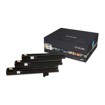 КАСЕТА ЗА LEXMARK OPTRA C 935/ X 940/X 945 - Color photoconductor kit - C/M/Y - 3 pcs. - P№ C930X73G - заб.: 60000k image