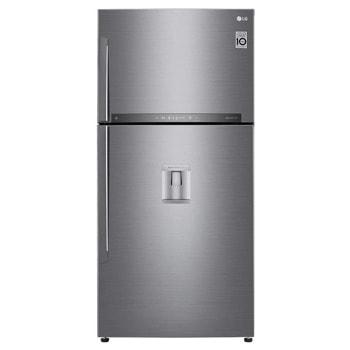 Хладилник с камера LG GTF916PZPYD, клас Е, 592 л. общ обем, свободностоящ, 330 kWh/годишно, No Frost, WiFi, диспенсър за вода, DoorCooling+, сребрист image