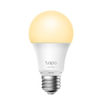 Смарт крушка TP-Link Tapo L510E, 8.7 W, 806 lm, Wi-Fi, Android/iOS, бял image
