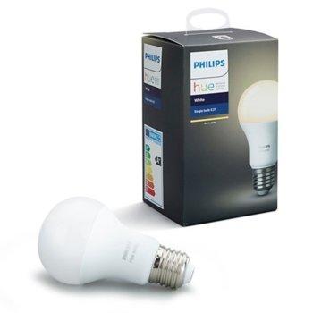 LED крушка Philips Hue Single bulb, E27, 60W, 800 lm, 2700K image