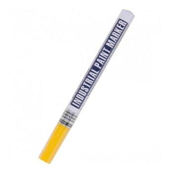 Маркер Paint Uchida Industrial Fine жълт, 0.8 - 1.2 mm, за всякакви повърхности image
