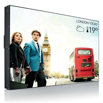 """Публичен дисплей Philips 55BDL1007X/00, 54.6""""(138.7 cm) Full HD LED панел, 8 ms, 500000:1, 700 cd/㎡, HDMI, DisplayPort, DVI, VGA image"""