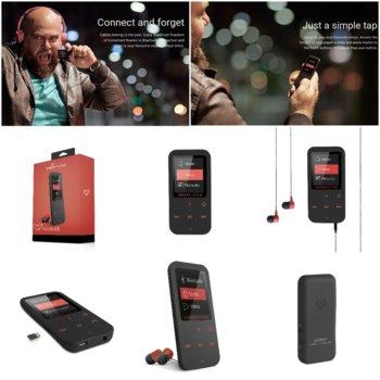 MP4 плейър Energy Sistem 42645, 8GB, 4.572cm дисплей, Bluetooth, корал image