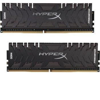 Памет 16GB(2x8GB) DDR4 3200MHz Kingston HyperX Predator CL1, HX432C16PB3K2/16, 1.2V image