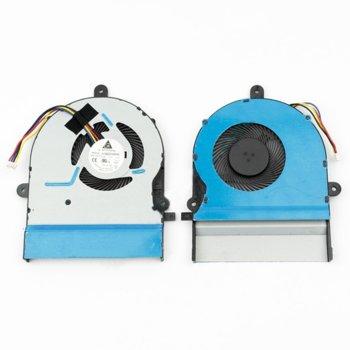 Вентилатор за лаптоп, съвместим с Asus K501LX K501UX A501L V505L image