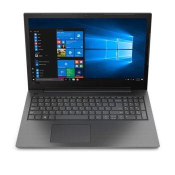 "Лаптоп Lenovo V130 (81HN00UQBM)(сив), четириядрен Kaby Lake R Intel Core i5-8250U 1.6/3.4 GHz, 15.6"" (39.62 cm) Full HD Anti-Glare Display, (HDMI), 4GB DDR, 256GB SSD, 1x USB 3.0, Free DOS image"