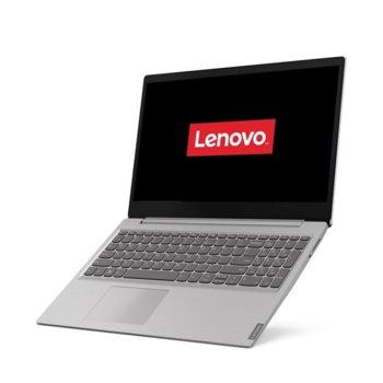"Лаптоп Lenovo Ideapad S145-15IIL (81W80039RM)(сив), двуядрен Ice Lake Intel Core i3-1005G1 1.2/3.4 GHz, 15.6"" (39.62 cm) Full HD TN Anti-Glare Display, (HDMI), 4GB, 512GB SSD, 2x USB 3.0, Free DOS image"