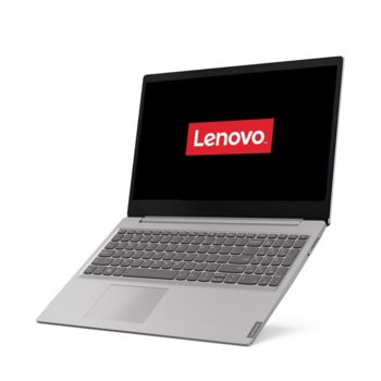 "Лаптоп Lenovo Ideapad S145-15IIL (81W80039RM)(сив), двуядрен Ice Lake Intel Core i3-1005G1 1.2/3.4 GHz, 15.6"" (39.62 cm) Full HD TN Anti-Glare Display, (HDMI), 4GB, 512GB SSD, 2x USB 3.0, Free DOS image"
