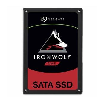 """Памет SSD 240GB Seagate IronWolf 110, SATA 6Gb/s, 2.5""""(6.35 cm), скорост на четене 560 MB/s, скорост на запис 535 MB/s image"""