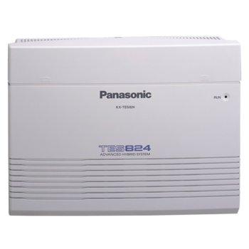 Аналогова телефонна централа Panasonic KX-TES824, 3 външни и 8 вътрешни линии image