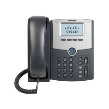 VoIP Телефон, Cisco SPA502G, 128x64 монохромен LCD дисплей, 1 линия, PoE image