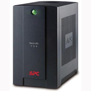 UPS APC Back-UPS 700VA, 700VA/390W, Line Interactive image