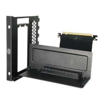 Универсален брекет Cooler Master и кабел за вертикален монтаж за видео карта  image
