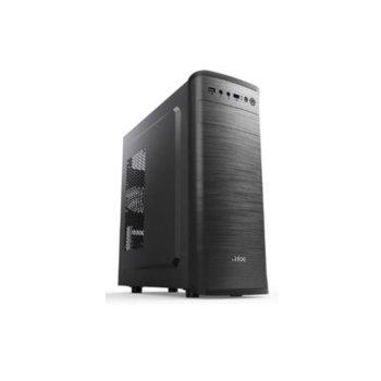 Кутия Power Box C177, ATX, USB 3.0, черна, с захранване 550W image