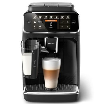 Автоматична еспресо кафемашина Philips EP4341/50, 1500W, 15 бар, 1.8 литра, черна image