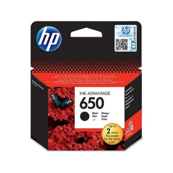ГЛАВА HEWLETT PACKARD Deskjet ink advantage 2515/3515 - Black - (650) - P№ CZ101AE - заб.: 360p image