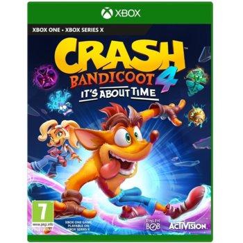 Игра за конзола Crash Bandicoot 4: It's About Time, за Xbox One image