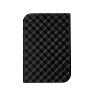 """Твърд диск 2TB Verbatim Store n Go (черен), външен, 3.5"""" (8.89 cm), USB 3.0 image"""