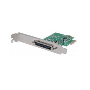 Контролер Manhattan 152099, от PCI-Express 1.1 x1(м) към DB25(ж), до 2.0Mbps image